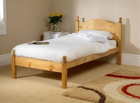 Friendship Mill Orlando Low Foot End 2ft6 Small Single Wooden Single Bed Frames