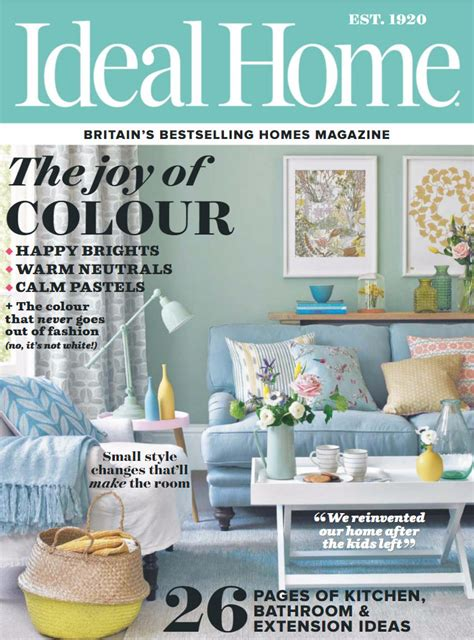 home design living magazine blue and yellow interiors by color 25 interior