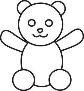Template Of Teddy by Teddy Templates Clipart Best