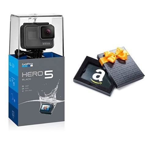 B H Gift Cards - gopro hero5 black with 50 gift card for 349 shipped from amazon or b h dansdeals com