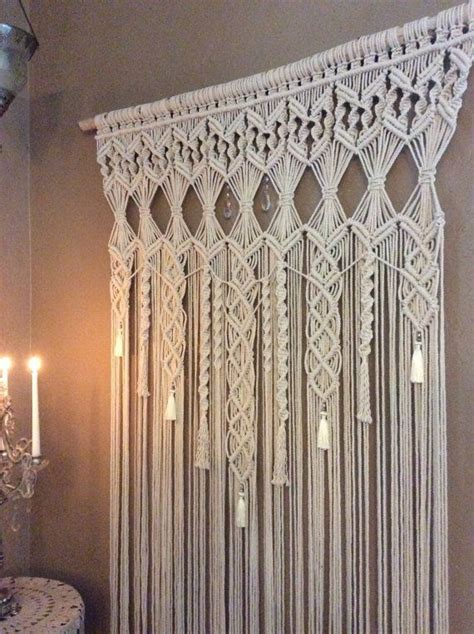 Rideaux Macramé by Large Macrame Wall Hanging Tapestry Wedding Backdrop