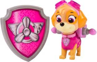 Paw patrol action pack pup amp badge skye leker cdon com
