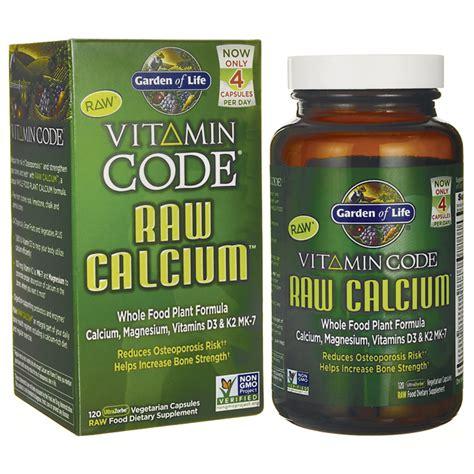Garden Of Vitamin Code For by Garden Of Vitamin Code Calcium 120 Veg Caps