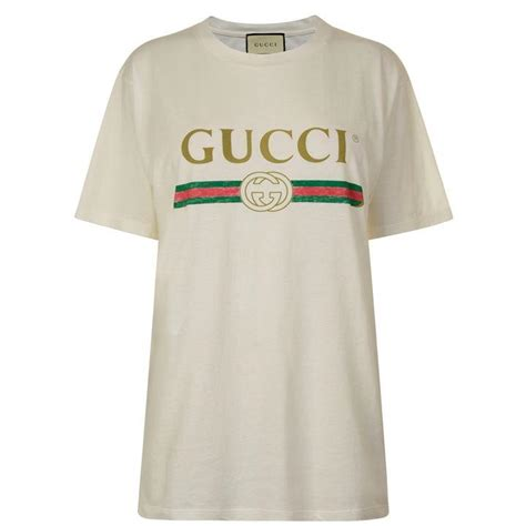 Kaos Tshirt Baju Gu Cci Vintage Logo Premium gucci t shirt logo kamos t shirt