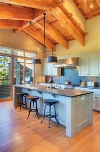 Kitchen Bar Table Ideas Kitchen Rustic Kitchen Blue High Ceiling L Shaped