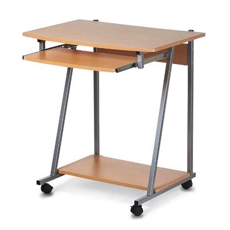 Computertisch Rollen by Computertisch Pc Buero Tisch Computerwagen Schreibtisch