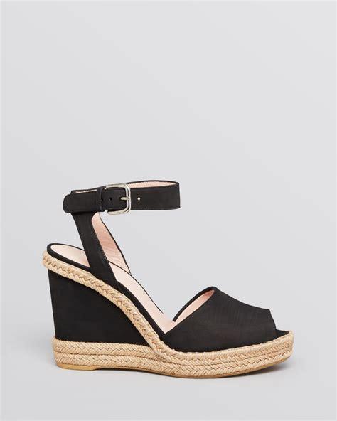 stuart weitzman platform espadrille wedge sandals waycool