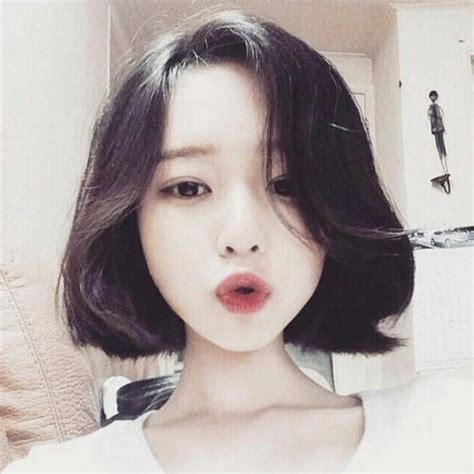ulzzang medium hair style photo gallery of short hairstyles for korean girls