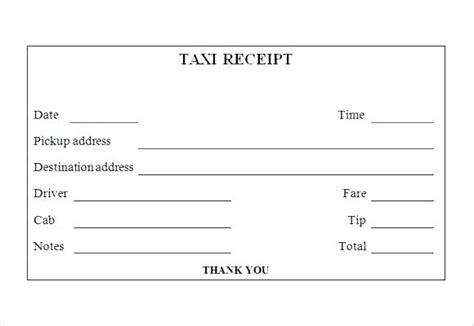 cab receipt template india taxi bill receipt kinoroom club
