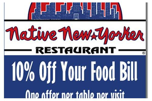 native new yorker coupon code