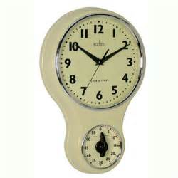 Homebase Patio Sets Acctim Kitchen Wall Clock And Timer From Homebase Wall