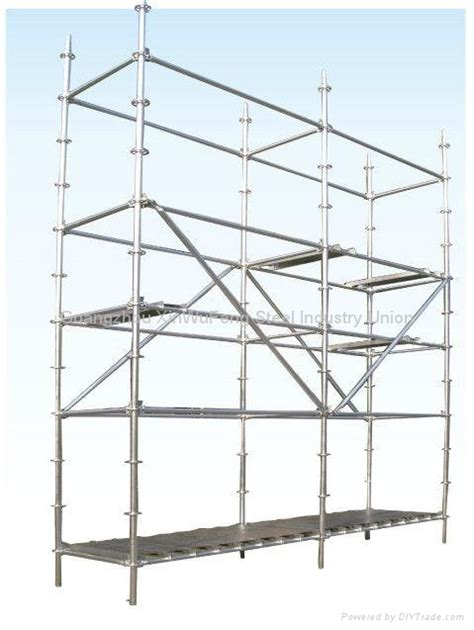 Painting For Home Decoration Highly Damage Resistant Galvanized Cuplock Scaffolding