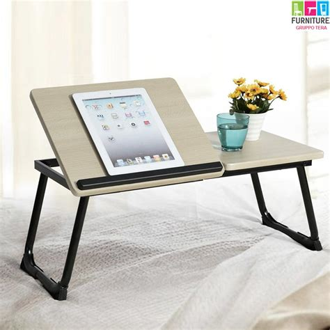 leggio da letto tavolino vassoio da letto divano per notebook pc laptop