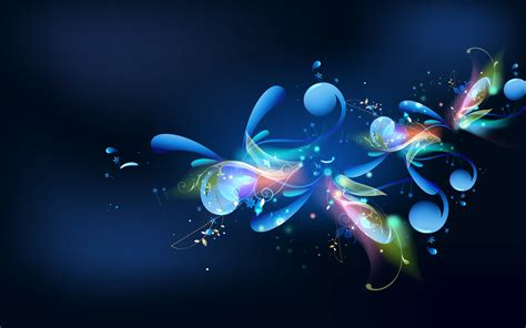 download wallpaper abstrak hd for android blue abstract wallpaper for pc 56 images
