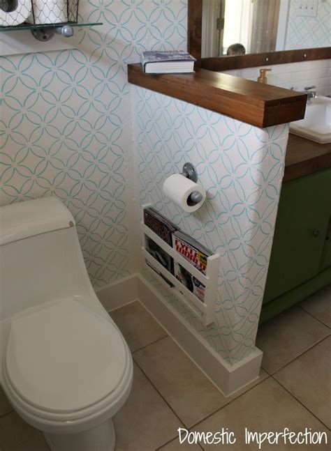diy magazine holder for bathroom furniture built in magazine rack and magazine holder