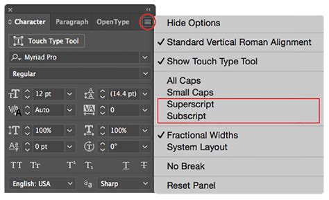 type in how to format type in illustrator