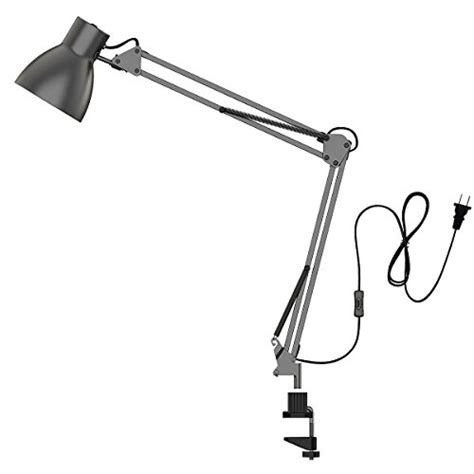 swing arm work light desk ls swing arm clip light fixtures shades office
