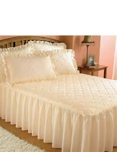 luxury plain quilted bedspread home bedroom