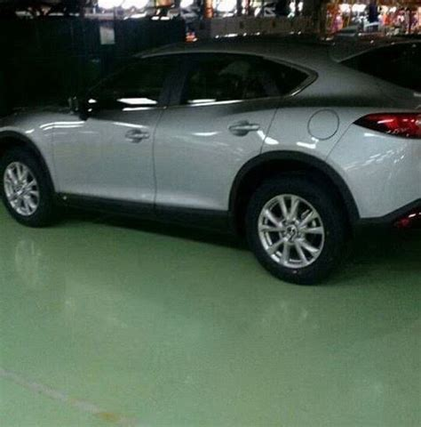mazda 4 by 4 mazda cx 4 cx 6 or cx 7 spied undisguised