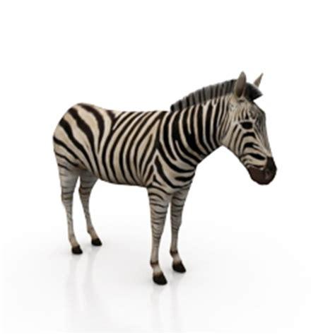 Kitchen Cabinets Models 3d animals zebra n200508 3d model gsm 3ds for