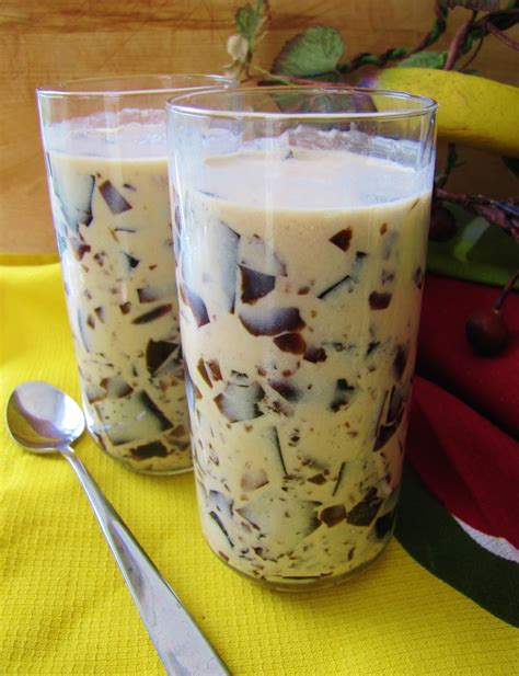Coffee Jelly the bacon thief japanese coffee jelly drink low carb