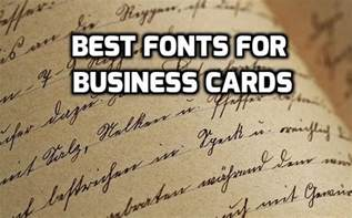 best business card fonts best of pics of business card font business cards design