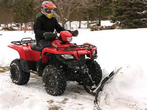 Snow Plow For Suzuki Atv 2012 American Manufacturing Eagle Plow Review Atv