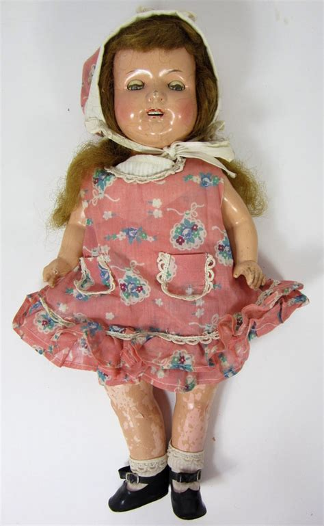 composition doll restoration vintage 17 quot effanbee rosemary composition doll for