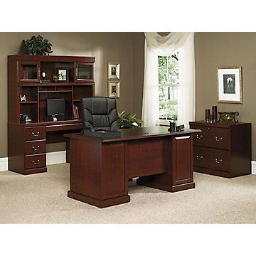 sauder heritage hill classic cherry traditional executive