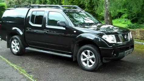 nissan navara 2006 nissan navara 2 5 dci outlaw 6 speed manual black with