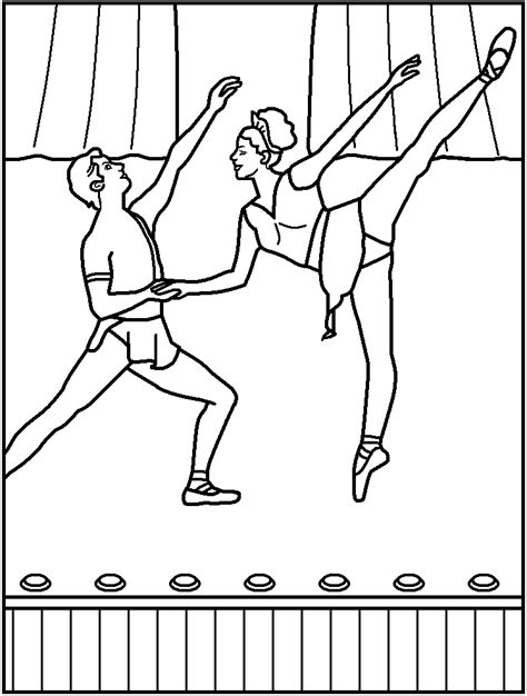 dance coloring pages free printable ballet coloring pages free coloring home