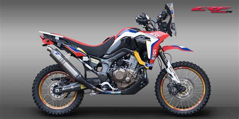 Honda Motorrad Xrv 750 Tuning Shop by Enduro Special Parts