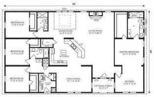 4 bedroom home floor plans 4 bedroom 3 bath ranch plan image result for http www jachomes userfiles images