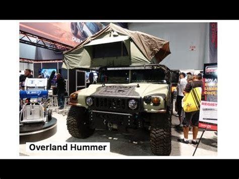 rockstar energy jeep overland hummer h1 built by rockstar energy garage sema