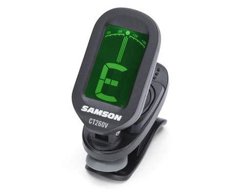 Samson Cm40 Tuner Metronome samson ct260v