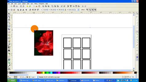 nwacs how to make a 9 card template using inkscape
