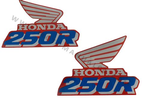 Honda Xr Aufkleber by Honda Xr 250 Xr250r Xr250 1990 Tank Decals Graphics