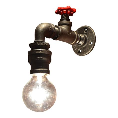 Industrial Lights by Wall Light Industrial Light Steunk Sconce Steunk