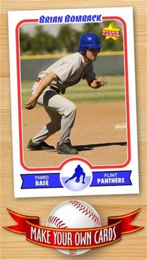 baseball card statistics template baseball card templates free blank printable