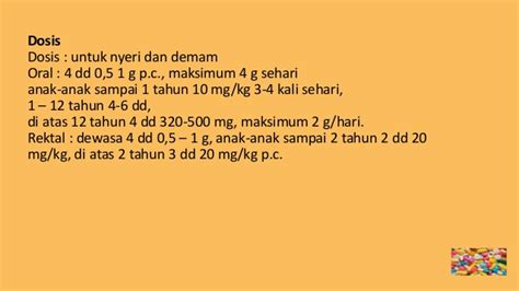 Dumin 500 Mg 5 farmakologi analgetik