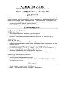 Sales Professional Resume Samples Sales Professional Resume Channel Sales