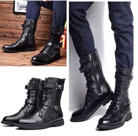 botas de cuero para hombres botas militares para hombre