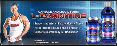 allmax l carnitine jual suplemen l carnitine