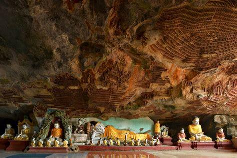 myanmars cave  ten thousand buddhas lives