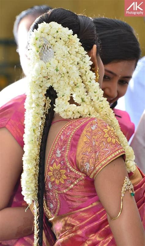 indian hairstyles with jasmine flowers 157 best blouse designs images on pinterest blouse