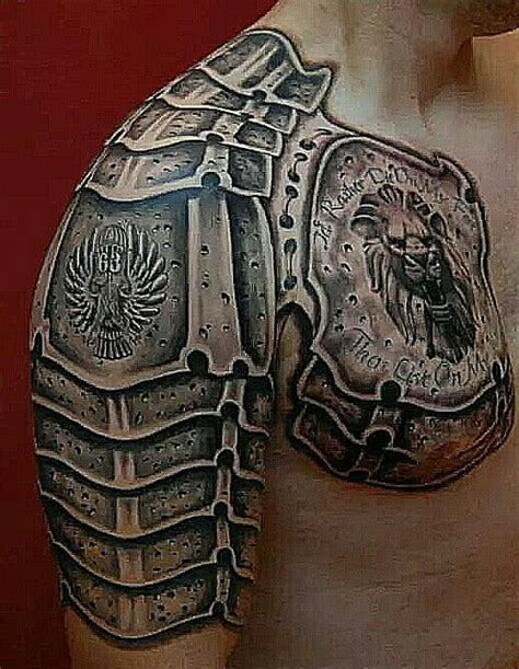 tattoo armor gladiator armor http giantfreakintattoo