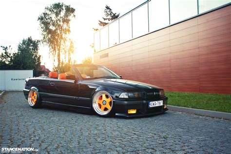 bmw e36 stanced polish drop top damian s bmw 328i stancenation