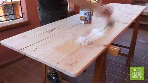 costruire un tavolo da giardino tavolo giardino fai da te con tavolo legno acacia