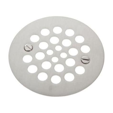 brasstech 4 1 4 in shower drain cover in stainless steel