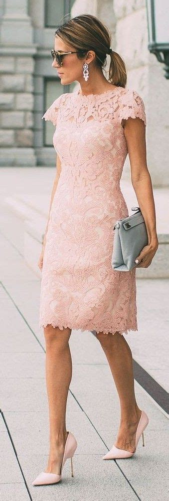 wedding guest fashion on pinterest 37 pins blush lace dress source fashion statement spring